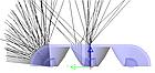 Трехточечный (3030) для торцевой подсветки с алюминиевым теплоотводом 3W (IP68) Белый, фото 4