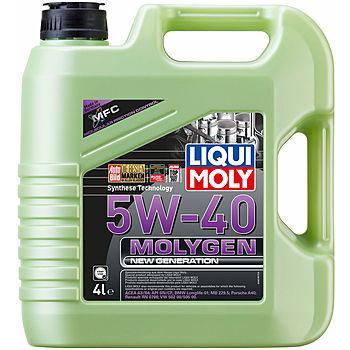 Моторное масло Liqui Moly Molygen New Generation 5W40 4L