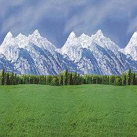 Фон бумажный о Ella Bella FADELESS MOUNTAINS (56875) горы 120x300 см