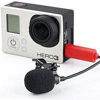 Петличный микрофон Saramonic SR-GMX1 для камер GoPro, mini USB