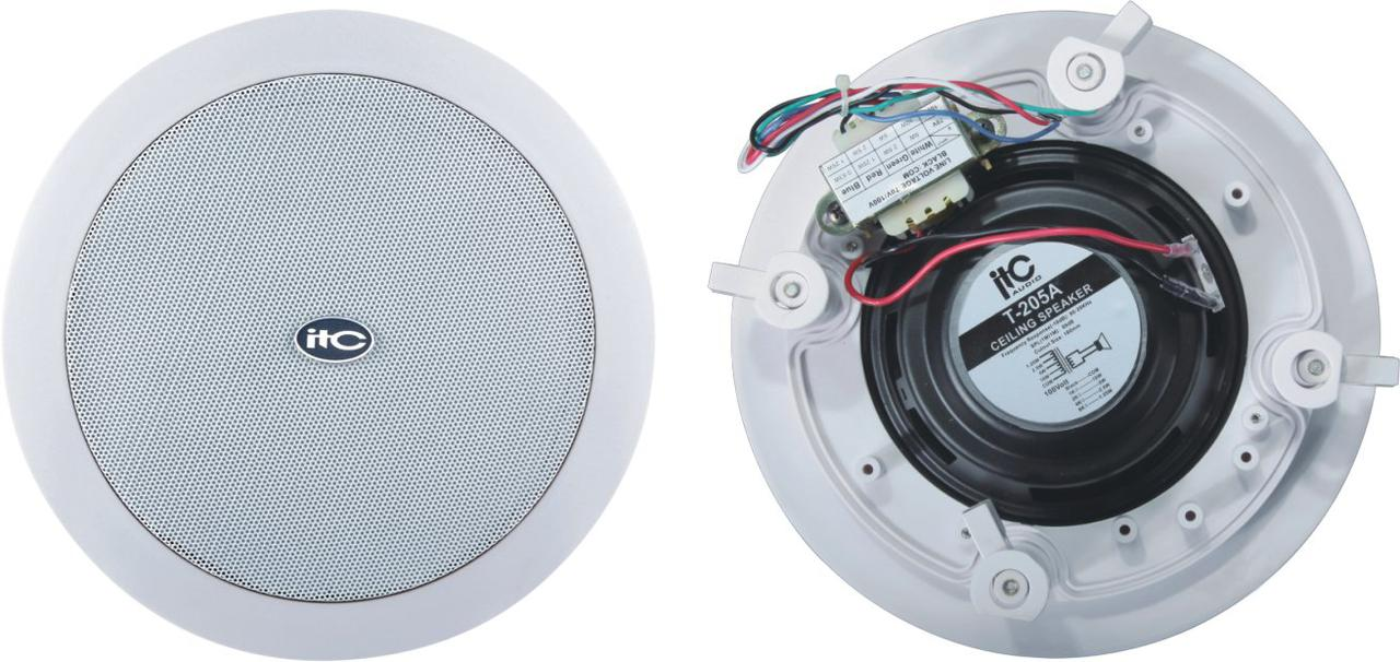 Потолочный громкоговоритель ITC Audio T-205B