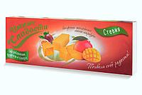 Конфеты желейные манго-маракуйя Умные сладости 90 г, без глютена, без сахара, без фруктозы