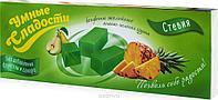 Умные сладости конфеты желейные без сахара со вкусом ананас-зеленая груша, 90 г,безглютена,безфруктозы