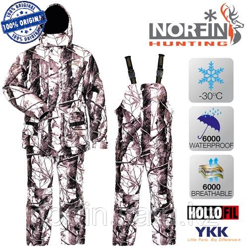 Костюм для зимней охоты и рыбалки  Norfin Hunting WILD SNOW 02 р.L (52-54) темп. -30С