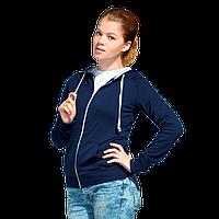 Легкая женская толстовка с капюшоном, StanCoolWomen, 61W, Тёмно-синий (46), XXL/52