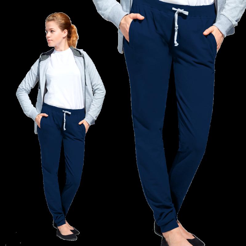 Женские спортивные брюки, StanJumpWomen, 62W, Тёмно-синий (46), XXL/52