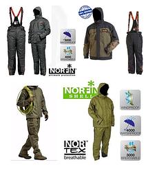 Демисезонный костюм для рыбалки и охоты Norfin