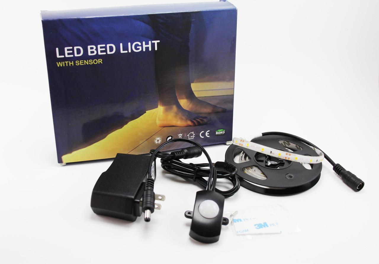 LED подсветка 2835SMD 1х150см с датчиком 220В