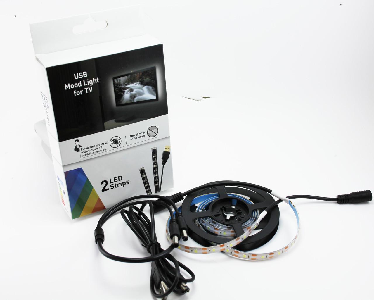 Светодиодная подсветка 2835SMD 2x45см USB