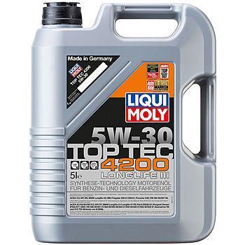 Моторное масло Liqui Moly Molygen Top Tec 4200 5W-30 5L