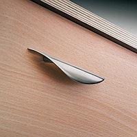 Мебельная ручка, цвет нерж сталь  89x17mm, фото 1