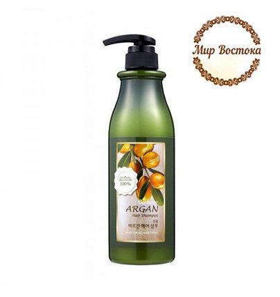 Шампунь c маслом арганы Welcos Confume (750 мл), фото 2