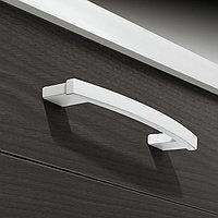Мебельная ручка, цвет белый мат 214x30mm, фото 1