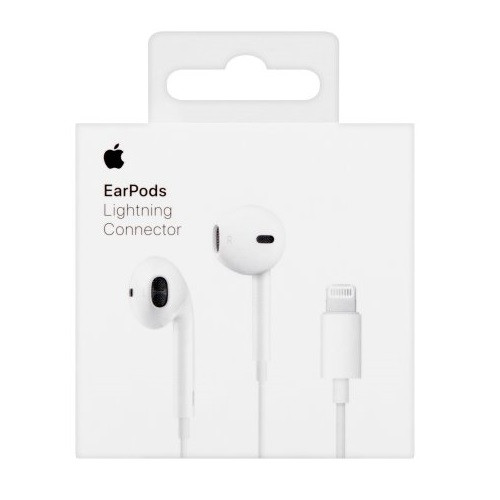 Наушники Apple Store, Apple Iphone EarPods Lightning iPhone 7, iPhone 8, iPhone X Original