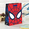 """Пакет подарочный вертикальный """"Ты- супергерой"""", Человек-паук, 31 х 40 х 11 см"""