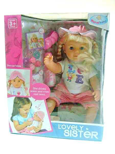 Кукла в панамке