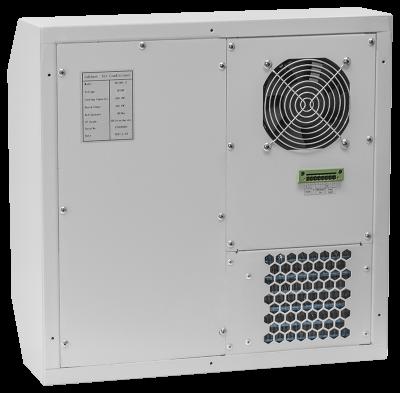 Кондиционер для установки в уличный шкаф, холодопроизводительность 500Вт, со встроенным электрическим калорифе