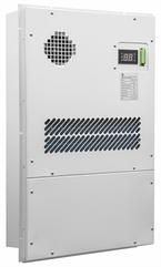 Кондиционер для установки в уличный шкаф, холодопроизводительность1000Вт, со встроенным электрическим калорифе