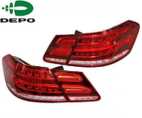 Задние фары E-class W212  Red Color 2010-13