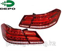 Задние фары E-class W212  Red Color 2010-13