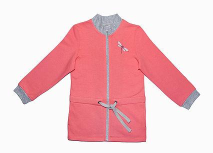 """Хлопковая куртка для девочек """"Стрекоза"""""""