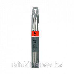 Спицы вязальные  чулочные, d-2см, 15 см, 5шт PONY 38501