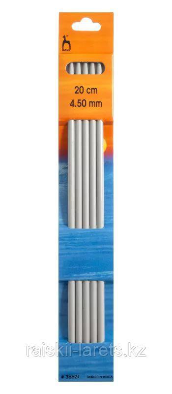 Спицы вязальные  чулочные, d-4,5см, 20 см, 5шт PONY 36621