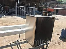 """Банная печь """"Квадратная малая""""с нержавеющим баком, фото 3"""