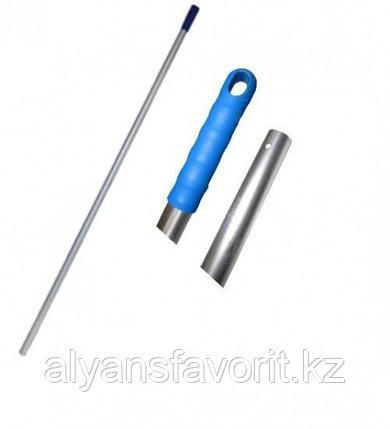 Алюминиевая ручка 140 см. для флаундера (пластикового держателя), фото 2