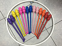 Булавы для художественной гимнастики 36см, Испания - AMAYA, фото 1