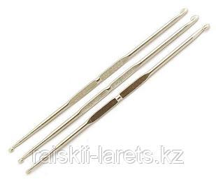 Крючок вязальный двусторонний №2,0/3,0 13 см Maxwell ТВ-СН-01
