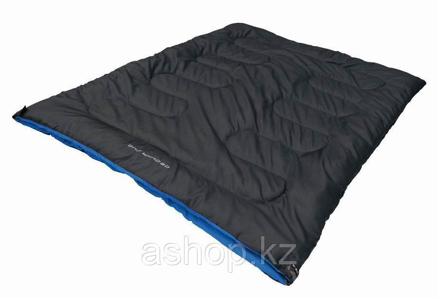 Спальный мешок кемпинговый High Peak CEDUNA DUO, Форм-фактор: Прямоугольный, Мест: 1, t°(комфорта): +8°С-+3°С,