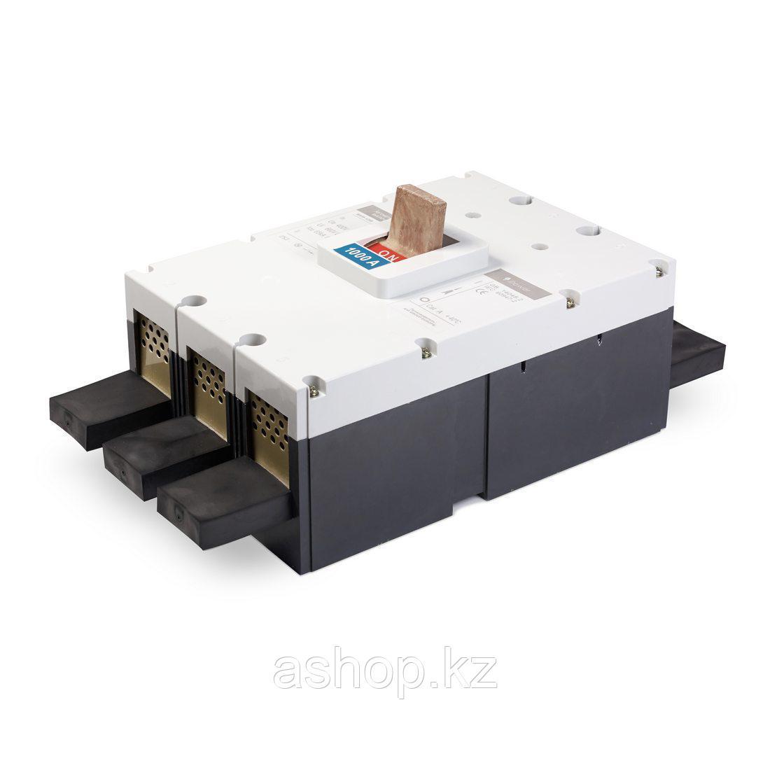 Автоматический выключатель установочный iPower ВА59-1600 3P 1600А, 380/660 В, Кол-во полюсов: 3, Предел отключ