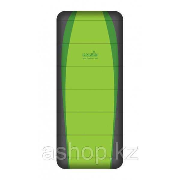 Спальный мешок трекинговый Norfin Light Comfort 200 Fishing, Форм-фактор: Одеяло, Мест: 1 , Молния справа, t°(