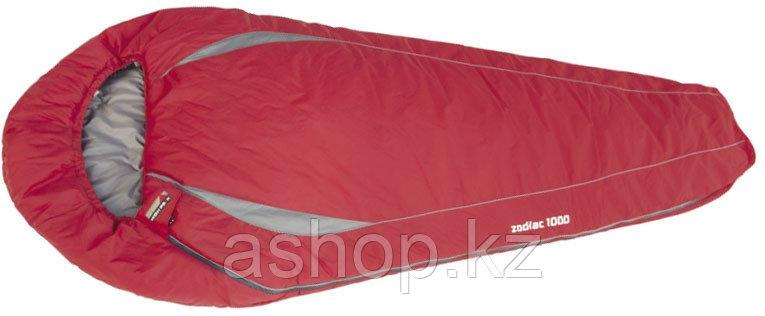 Спальный мешок трекинговый, кемпинговый High Peak ZODIAC 1000, Форм-фактор: Кокон, Мест: 1, t°(комфорта): +9°С