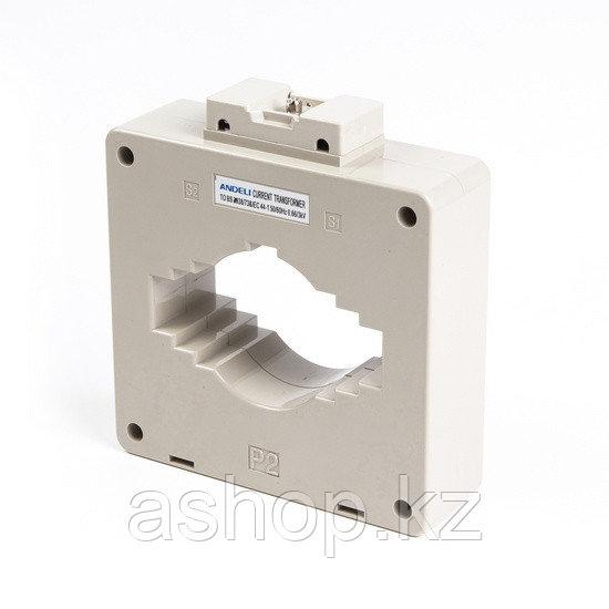 Трансформатор тока шинный Andeli MSQ-100 1500/5, Класс точности 0,5, Соотношение: Первичный/вторичный 1000/5 А
