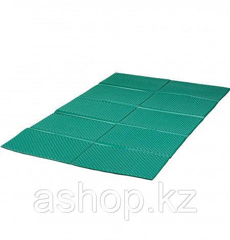 Туристический коврик, каремат Kovea Camp Double Mat, Прямоугольный, Мест: 2, Цвет: Зелёный, Упаковка: Пакет, (
