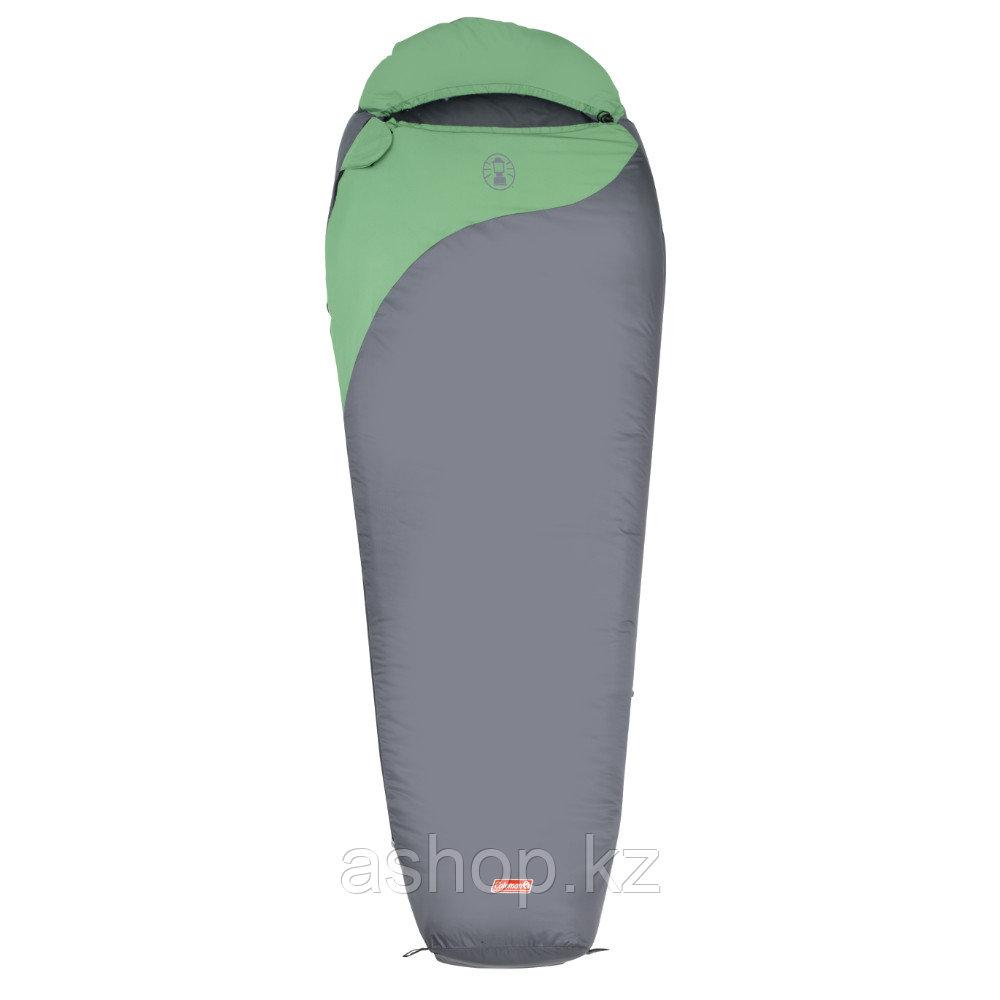 Спальный мешок трекинговый Coleman Biker, Форм-фактор: Кокон, Мест: 1, t°(комфорта): +17°С-+14°С, t°(Экстрим):