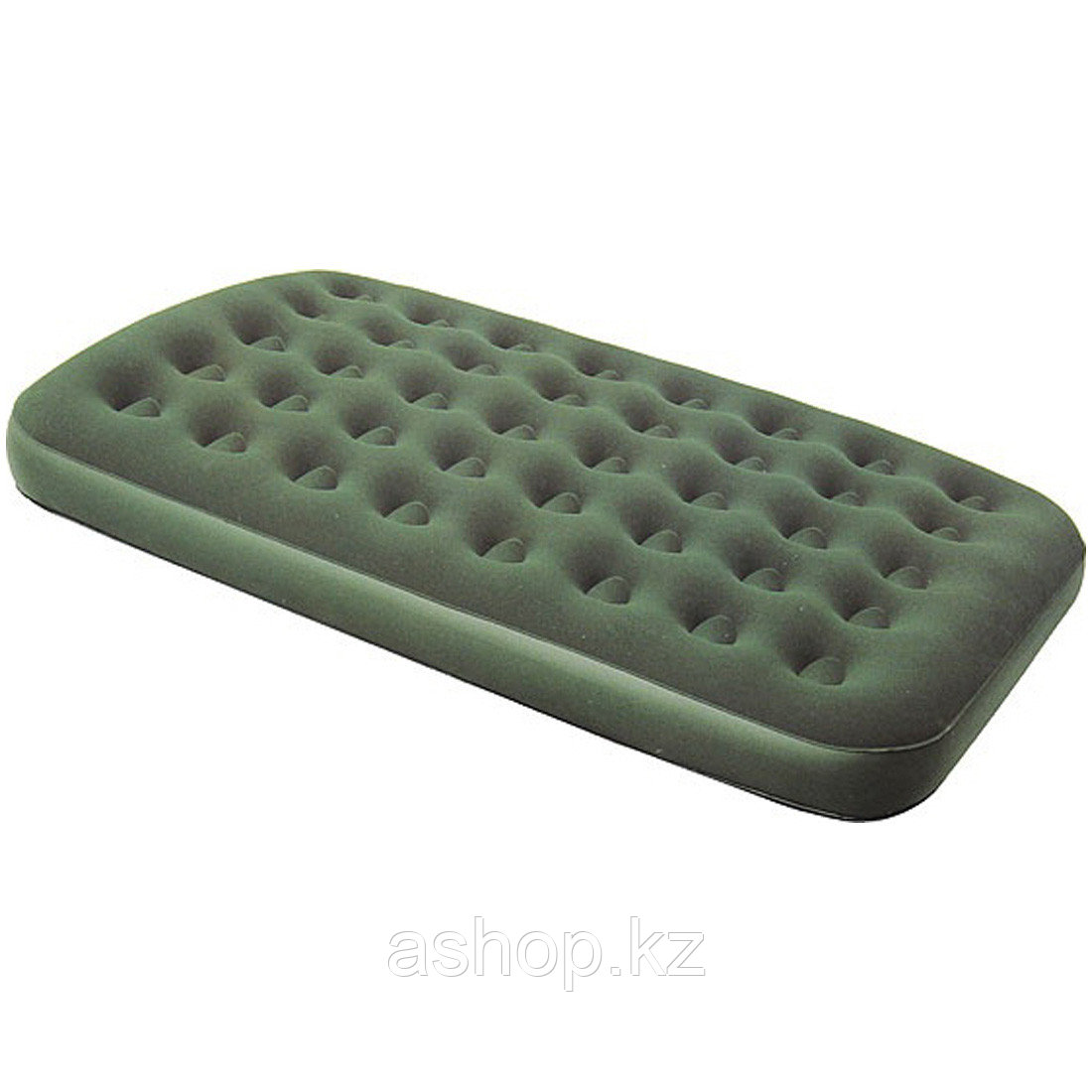 Матраc надувной Bestway 67554, Форм-фактор: Прямоугольный, Мест: 2, Материал: Поливинилхлорид, Цвет: Зелёный