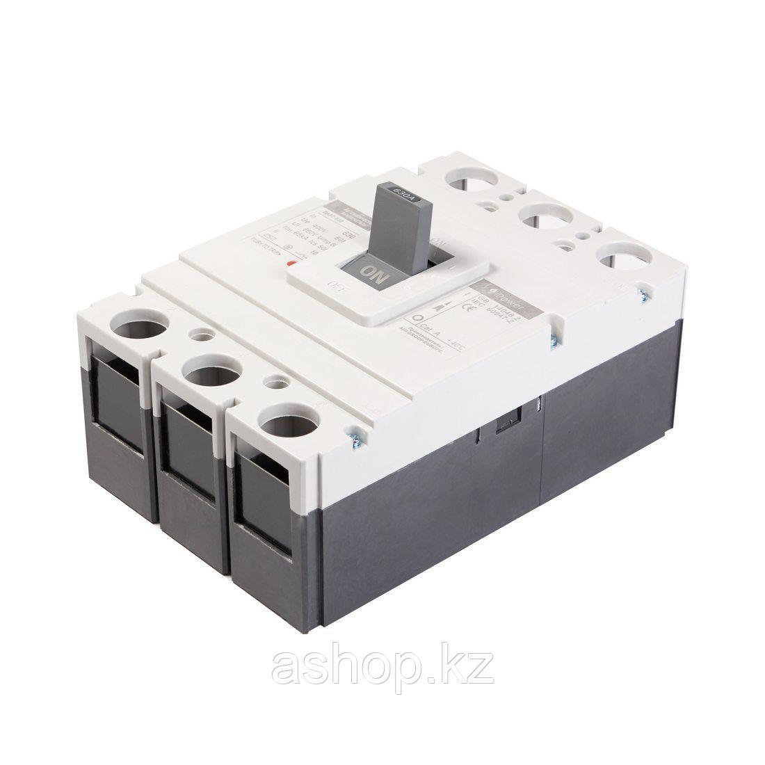Автоматический выключатель установочный iPower ВА57-630 3P 500А, 380/660 В, Кол-во полюсов: 3, Предел отключен