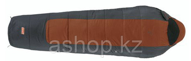 Спальный мешок кемпинговый Coleman X 480 FUSHION, Форм-фактор: Кокон, Мест: 1, t°(комфорта): +13°С-+9°С, t°(Эк