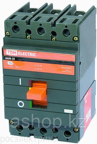 Автоматический выключатель установочный TDM ВА88-33 3P 160А, 380/660 В, Кол-во полюсов: 3, Предел отключения: