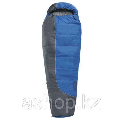 Спальный мешок кемпинговый Coleman Xylo Blue, Форм-фактор: Кокон, Мест: 1, t°(комфорта): +10°С-+6°С, t°(Экстри
