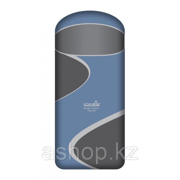 Спальный мешок трекинговый Norfin Scandic Comfort Plus 350 Family, Форм-фактор: Одеяло, Мест: 1 , Молния справ