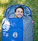 Спальный мешок трекинговый Coleman Atlantic 220, Форм-фактор: Кокон, Мест: 1, t°(комфорта): +11°С-+6°С, t°(Экс, фото 3