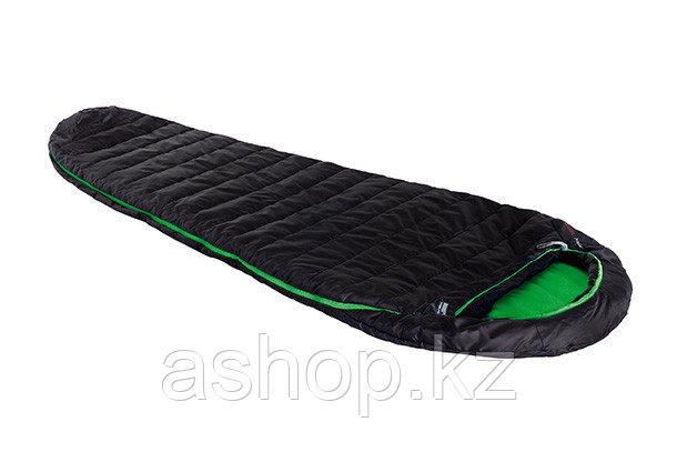 Спальный мешок трекинговый, кемпинговый High Peak PAK 1300, Форм-фактор: Кокон, Мест: 1, t°(комфорта): +8°С-0°
