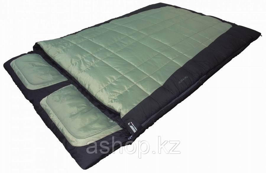 Спальный мешок кемпинговый High Peak Twin Forester, Форм-фактор: Прямоугольный, Мест: 2, t°(комфорта): +2°С--5
