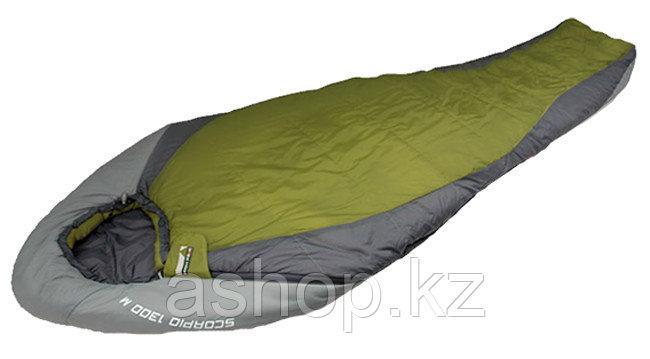 Спальный мешок кемпинговый Best Camp WOKO, Форм-фактор: Прямоугольный, Мест: 1,t°(комфорта): +14°С, Материал: