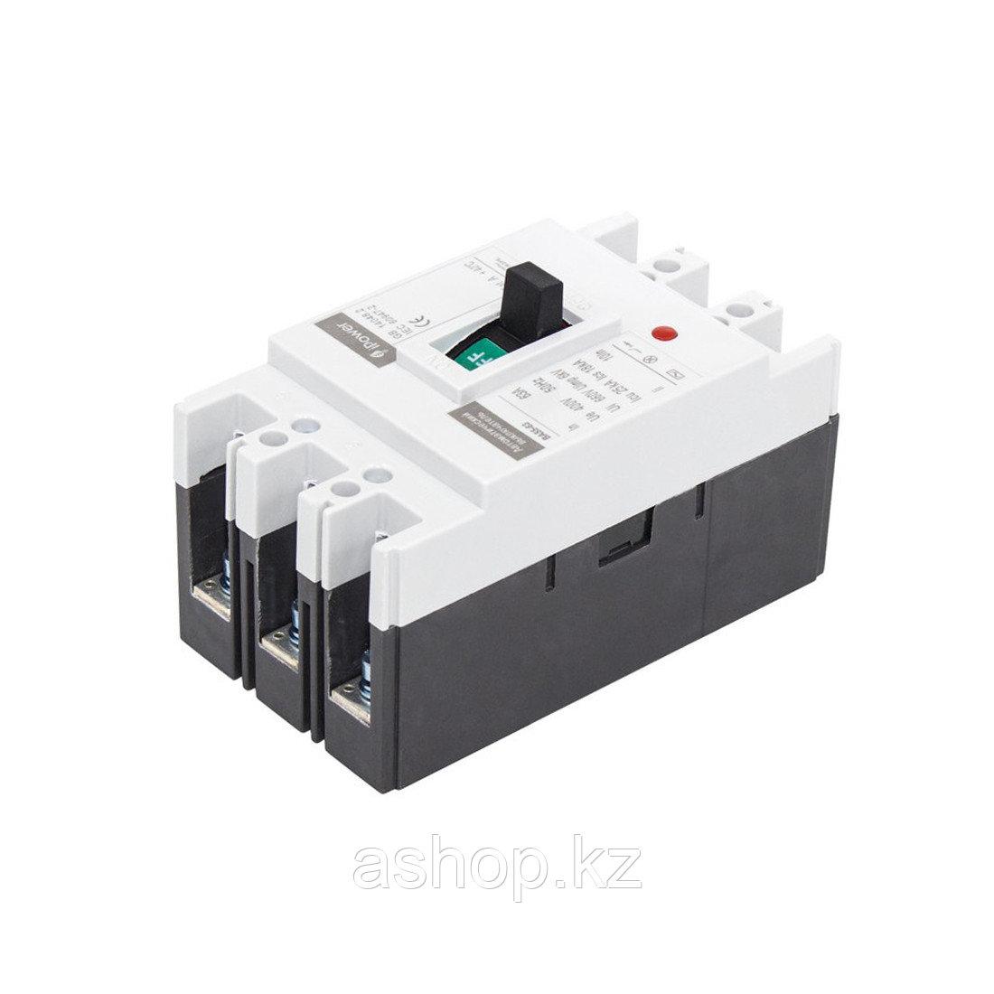 Автоматический выключатель установочный iPower ВА55-63 3P 32А, 380/660 В, Кол-во полюсов: 3, Предел отключения