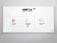 Маркерные доски с изображением Askell Size